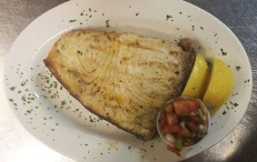 Grilled Swordfish at Dubes Restaurant